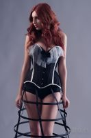 Nuit Perlee corset by Miss-SelfDestructive