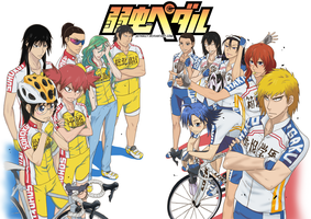 Yowamushi Pedal female version by JeyHaily