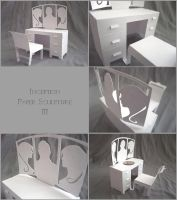 Inception Paper Sculpture III by ldhenson