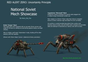 RAZ- Soviet Mech Showcase by Harry-the-Fox