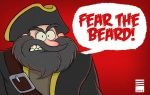 Sketch_Dailies #1: Blackbeard by EadgeArt