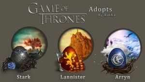 Game of Thrones Eggs Auction (CLOSED) by light-askha