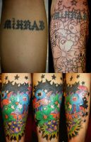 cover up letters by dannygarcia