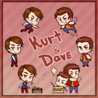 Shimeji: Kurt and Dave by pixolith