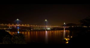Ting Kau Bridge by WiDoWm4k3r