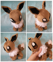 Eevee plush by PlushieMania