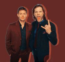Jensen and Jared. by WeasleyEditions