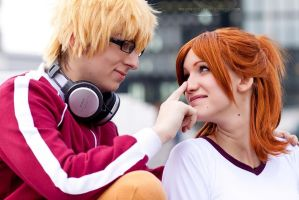 Closer - Akito/Kaya - Bakuman by Herzblatt