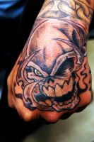Second session Skull piece2 by WikkedOne
