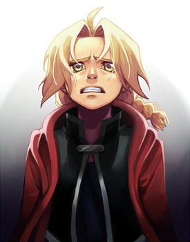 Edward Elric - Never Forget by Fishiebug