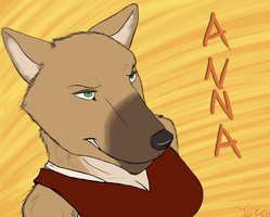 Anna, The Hyena! by FluxySentor