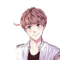 EXO Luhan : Cute Guy by bluezazzle