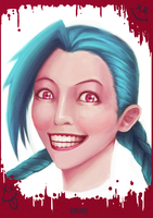 I'm crazy! Got a doctor's not - Jinx by kinwii