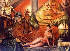 JABBA by Woody Welch by woodywelch