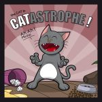 The Cat in CATASTROPHE by Satanisapunk