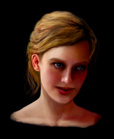 Girl- by an unknown Dutch artist by akirk