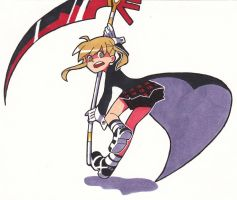 Maka in PSG by Jazzie560