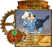 Skybound Shipyard: Gerdur (Meditite/Houndoom)