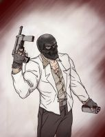 Black Mask in Color! by Mardoza
