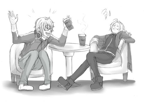 Coffee Break by alexis-the-angel