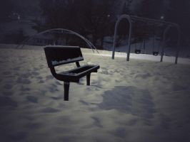 Lonely Playground by cassaw-creative