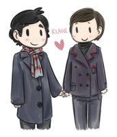 KLAINE CHIBISSS by oofuchibioo