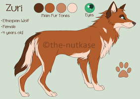 Zuri Reference Sheet by The-Nutkase
