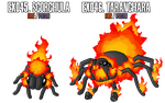 Fakemon: EX045 - EX046 by MTC-Studio