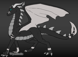 Eternal's Dragon Form Ref Sheet 2013 by WolfAdemius