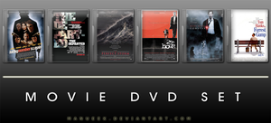 Movie DVD Icons 12 by manueek