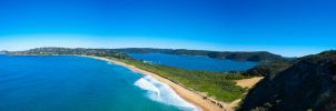 Palm Beach Headland Panorama by Bobby01