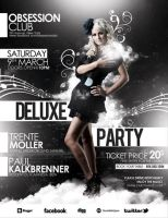 Deluxe Party Poster/Flyer PSD Template by outlawv15