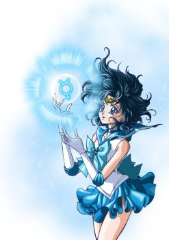 Sailor Mercury Crystal_Version by AmarineCraft