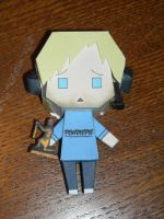 Pewdiepie Papercraft Finished by Chr-ali3