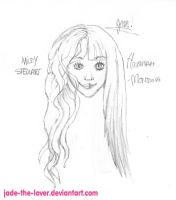a Miley, Hannah drawing by Jade-the-lover