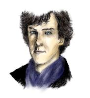 Sherlock by DarkJujuMagumbo