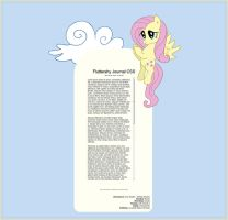Fluttershy Journal Skin by dxd
