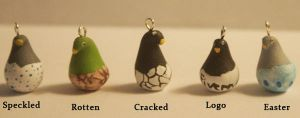 Specialty Style Set- Chick Stash Charms by Skyelark