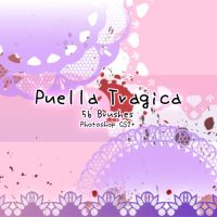 Puella Tragica Brushes by kabocha
