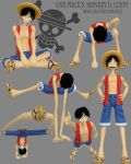 3d Monkey D Luffy DONE by Athey