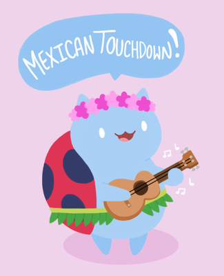 Mexican Touchdown by KateTheTheif