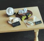 1:12 Scale Cheese Display by fairchildart
