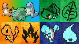 Pokemon first Gen Scarves by MadMouseMedia