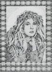 Portrait of Stevie Nicks by FractalBee