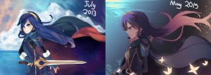 Improvement: Lucina by Himechui