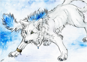 AT.:WhiteHikaris.ColdWinter:. by WhiteSpiritWolf