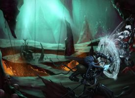 mindflayer vs drow by DXSinfinite