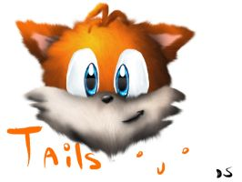 Tails Head by DoomSong8765