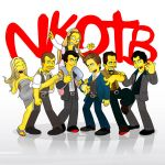 NKOTB by SimpsonsCameos