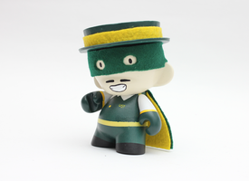 University of San Francisco Dons Munny by spilledpaint88
